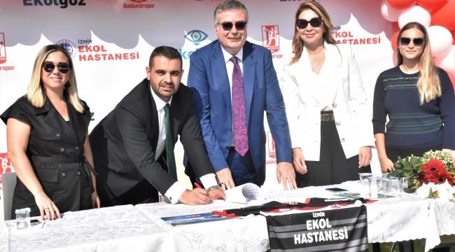 Balıkesirspor 1 Milyon TL'lik Sponsorluk Anlaşması Yaptı