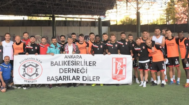 Balıkesirspor Ankara'da Yalnız Değil