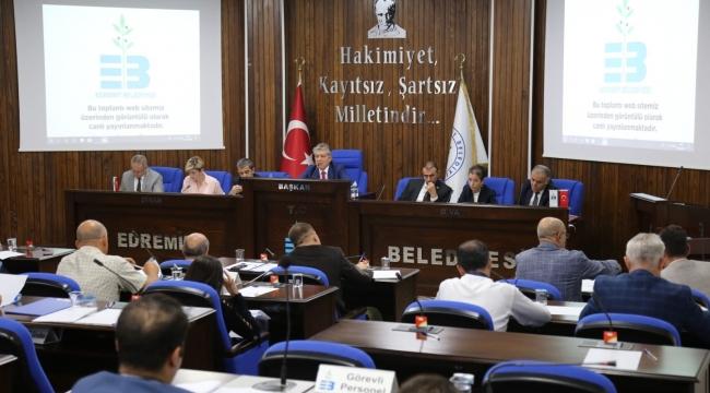 Edremit Belediyesinin 2020 bütçesi belirlendi