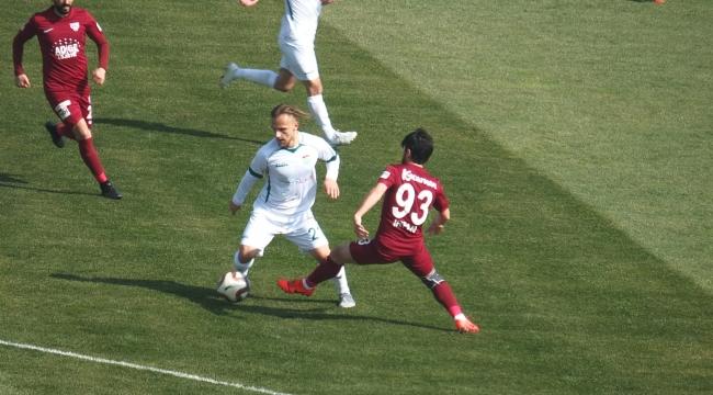 TFF 2. Lig: Bandırmaspor: 1 - Kırşehir Belediyespor: 1
