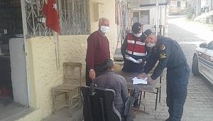 Jandarma engelli vatandaşı sevindirdi