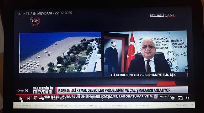 Başkan Ali Kemal Deveciler :