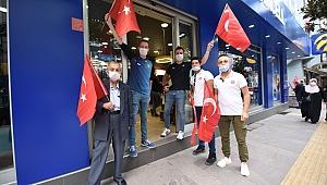 29 Ekim'de Karesi'de her yerde Türk bayrağı dalgalanacak