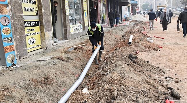 Zağnos Paşa Meydanı Projesinde önce altyapı düzenleniyor