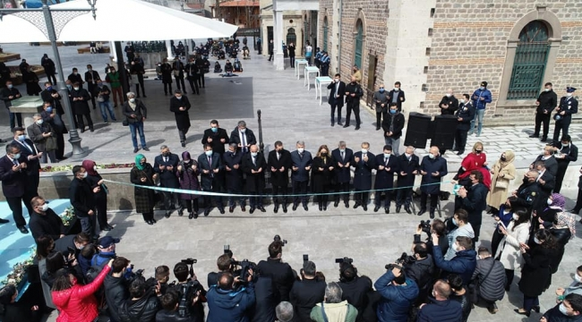 Zağnos Paşa Camii eski ihtişamına kavuştu