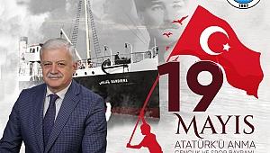 Başkan Ali Kemal Deveciler: 19 Mayıs Atatürk'ü Anma Gençlik Bayramı kutlu olsun