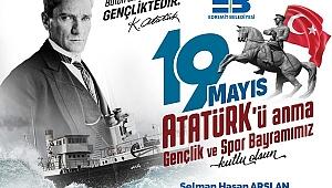 """Edremit Belediye Başkanı Selman Hasan Arslan: """"19 Mayıs Gençlik ve Spor Bayramımız kutlu olsun"""""""
