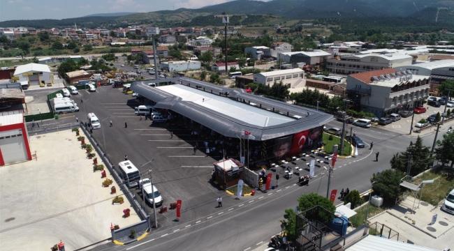 Susurluk, yeni otobüs terminaline kavuştu