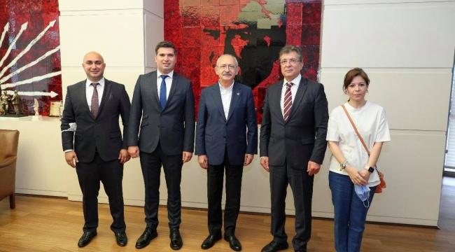 Başkan Arslan Kılıçdaroğlu'nu ziyaret etti